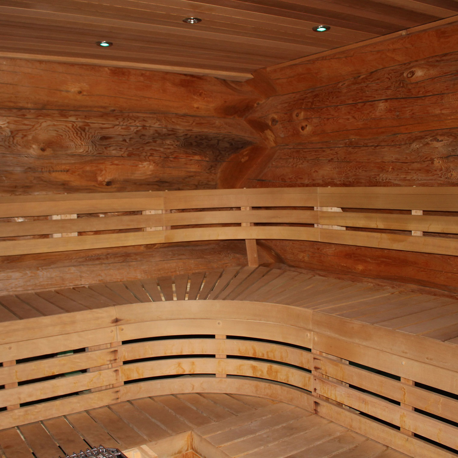 mount bohemia yoga resort sauna