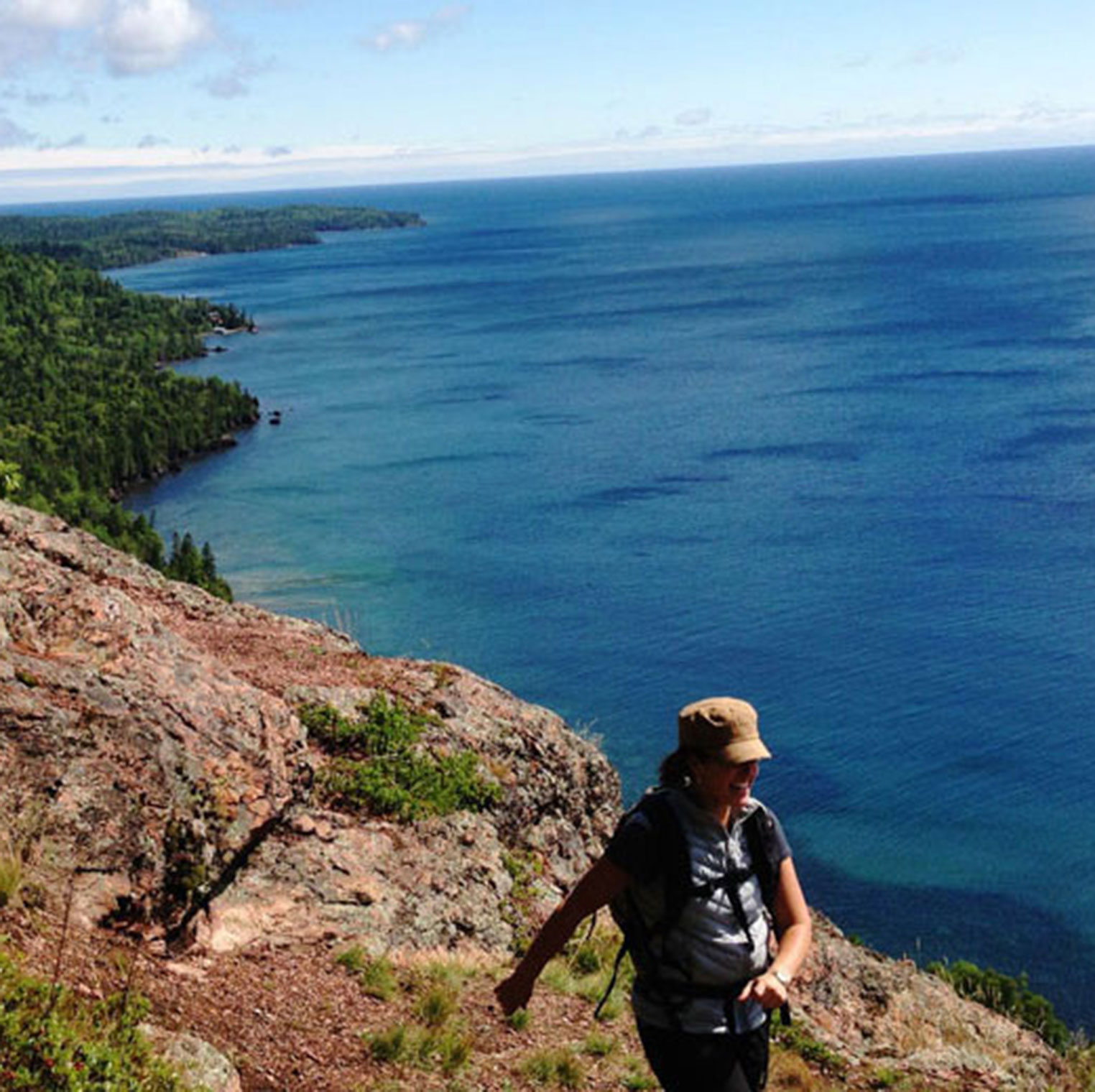 lake superior hiking trails